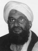 Photograph of Ayman Al-Zawahiri
